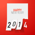 Happy new year greetings illustration Royalty Free Stock Photography