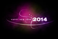Happy new year 2014 Royalty Free Stock Photo