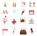 Happy New Year icons Stock Photography