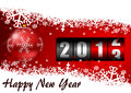 Happy new year illustration Stock Photography