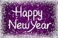 Happy New Year Message Stock Photos