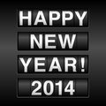 Happy new year odometer background design with style eps file Stock Images