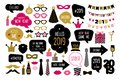 Happy new year 2019 photo booth props