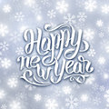 Happy New Year 2016 vector greeting card Royalty Free Stock Photo