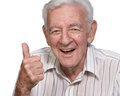 Happy old man Royalty Free Stock Photo