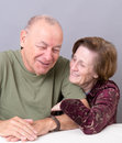 Happy Older Couple Royalty Free Stock Photos