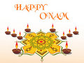 Happy onam backgound,  illustration Stock Photo