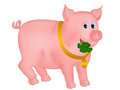 Happy pig Stock Photos