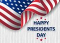 Happy Presidents Day background template. United States Happy president`s day - poster with flag of the USA.