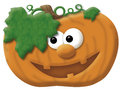Happy Pumkin illustration Royalty Free Stock Photography