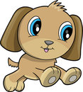 Happy Puppy Dog Vector Royalty Free Stock Photos