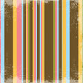 Happy Retro Stripes Textured Background Stock Images