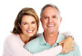 Happy senior couple in love. Royalty Free Stock Photo