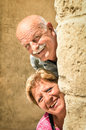 Happy senior couple in love during retirement Royalty Free Stock Photo