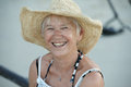 Happy senior woman Royalty Free Stock Photo