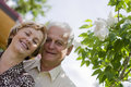 Happy seniors - 42 years in love Royalty Free Stock Images