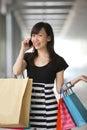 Happy Shopper Royalty Free Stock Photo