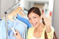 Happy shopping woman Royalty Free Stock Image