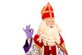Happy Sinterklaas On White Bac...