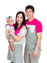 Happy smile family Royalty Free Stock Photo