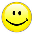 Happy smiley face  Royalty Free Stock Image
