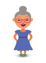 Happy, Smiling and Laughing Avatar of Cartoon Character in Flat Vector