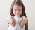 Happy smiling little Girl Stock Photography