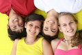 Happy smiling teens Royalty Free Stock Photo