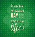 Happy St. Patrick's Day Card Royalty Free Stock Photography