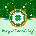 Happy St.Patricks Day Royalty Free Stock Photography