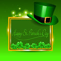 Happy st patricks day vector illustration of background Stock Photo
