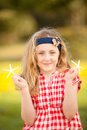 Happy summer child Royalty Free Stock Photography