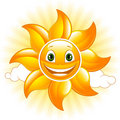 Happy sun Royalty Free Stock Photography