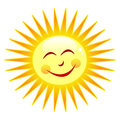 Happy sun Royalty Free Stock Photo