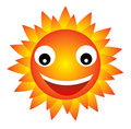 Happy sun Royalty Free Stock Photos