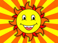 Happy sun an image of a Stock Images