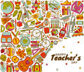 Happy Teachers Day background