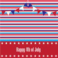 Happy th of july background Royalty Free Stock Photos