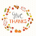 Happy Thanks giving vector background