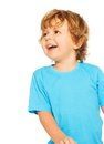 Happy two years old boy laughing Royalty Free Stock Photo