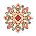 Happy Ugadi Gudi Padwa Hindu New Year Greeting Card Holiday Royalty Free Stock Photo