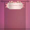 Happy valentine background Royalty Free Stock Photo
