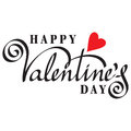 Happy valentine day Stock Image