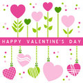 Happy Valentine s Day Card [1] Stock Image