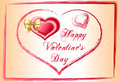 Happy_valentines_day Royalty Free Stock Photo