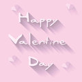 Happy valentines day card background illustration Royalty Free Stock Photos