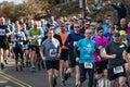 Wicklow, Ireland. 24th Mar 2019. Race start for Wicklow Half Marathon, runners started the marathon