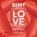Happy valentines day cards on rose background Royalty Free Stock Photo