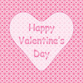 Happy valentines day congratulation card Stock Photo