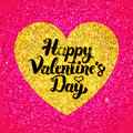 Happy Valentines Day Glitter Design